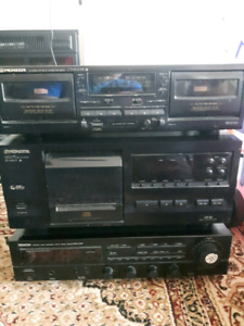 25 disc CD changer tape deck and Receiver