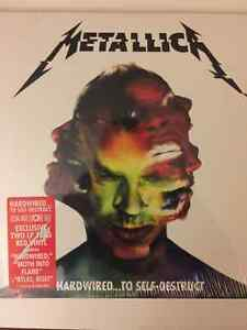 RECORD STORE DAY VINYL - METALLICA - HARDWIRED... RED VINYL