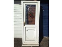 UPVC DOOR WHITE !! SMALL !!