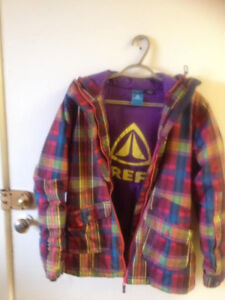 Firefly ski/snow boarding jacket size Youth Large/Womans small