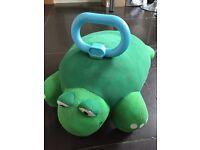 Little tikes tortoise cushion ride on