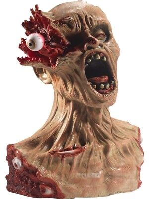 Exploding Eye Zombie Bust Prop Decoration Halloween House Party Accessory - Smiffys Halloween Props