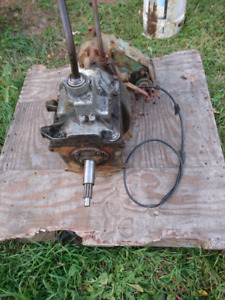 Ford 4 spd.transmission and transfer case