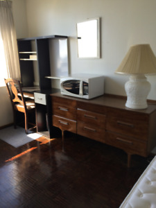 SEPT 1ST *HUGE FURNISHED ROOM*GREAT VIEW*1 YEAR OR MORE