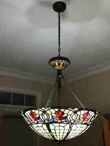 Dining room Tiffany light