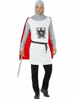 Adulto Cavaliere Costume Uomo Medievale Crusader Costume Re Artù Outfit