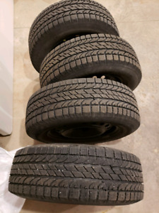 235 /65 R17 BF Goodrich Winter and Snow Tires