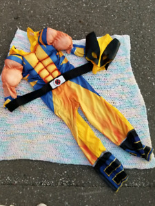 Wolverine costume! Size 5 or 6