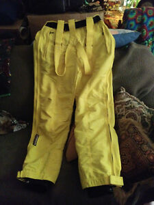 Descente high end yellow ski pants size 34 London Ontario image 1