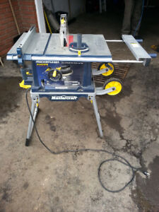 Mastercraft table saw buy or sell tools in ontario kijiji mastercraft portable table saw greentooth Image collections