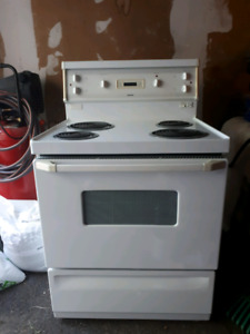 Hot point stove