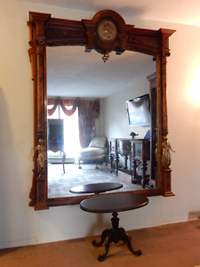 ANTIQUE FRENCH RENAISSANCE MIRROR C.1880
