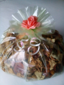Bespoke Large Round Bags of Natural Dried Flowers! Doorstep viewing!!