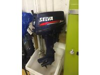 Selva 15 Hp outboard engine