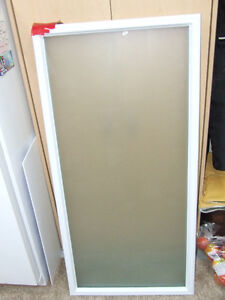 Frosted Glass Door Panel