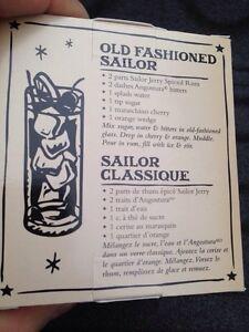 Sailor Jerry's limited edition bar glass Gatineau Ottawa / Gatineau Area image 6