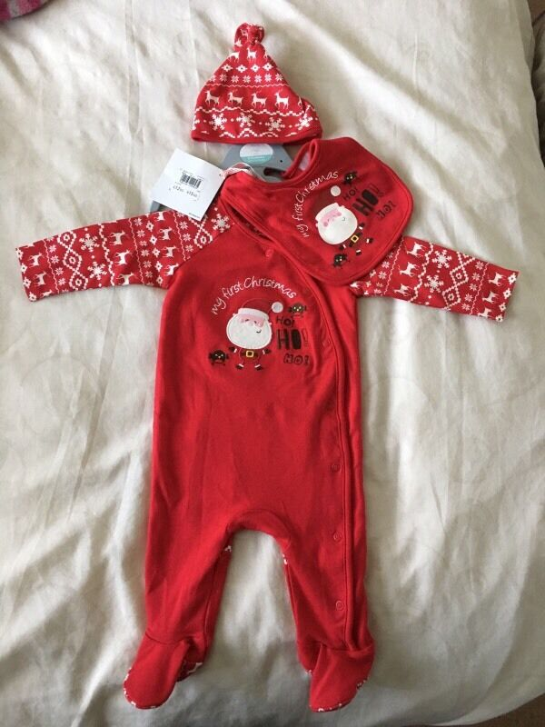 Brand new Christmas 3 piece set £5.00
