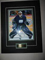 Luongo Authentic Autographed photo with frame