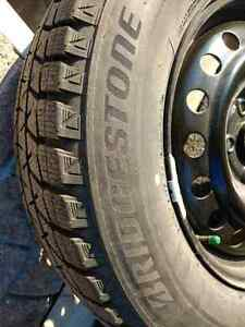 Snow tires Bridgestone