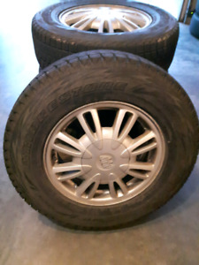 Winter tires and rims for sale 215/70R15