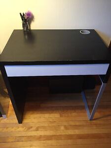 Bureau IKEA MICKE Brun Noir