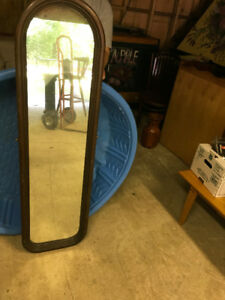 Long Oval Mirror