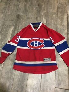 CAREY PRICE MONTREAL CANADIENS JERSEY YOUTH XL