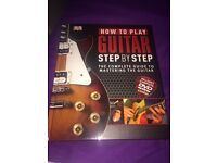 Guitar book with dvd