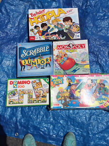 Various games for age 3+