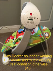 Fisher Price Vibrating Chair (Rocker not working)