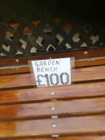 4 foot fully refurbished garden bench