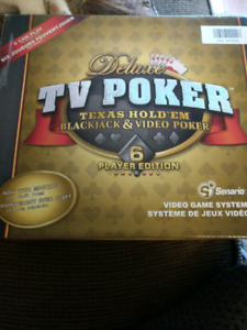 TV video poker game