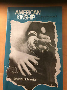 American Kinship 2nd Edition by Schneider