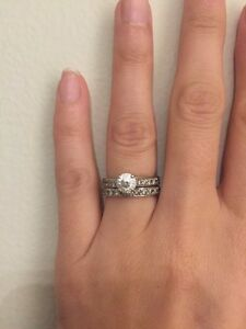 Engagement Ring Set - appraised at 6950 Kitchener / Waterloo Kitchener Area image 2