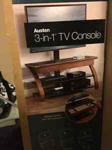 Tv stand with wall mount for sale $300