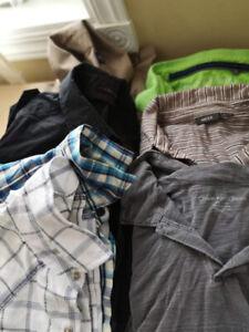 Lot de  chemises de marque pour homme