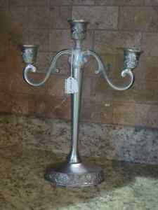Seagull Pewter Candle Holder