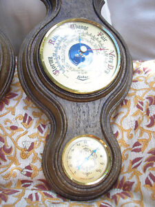 Pair of Vintage Fisher Barometers/Thermometers Made in France. Kitchener / Waterloo Kitchener Area image 8