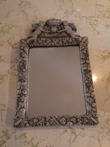 Gothic Mirror made with clay