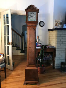 Antique Grandmother Clock - Colonial Manufacturing