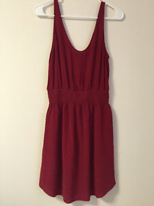 Selling Babaton Blythe Dress in Red - Like New - Size S
