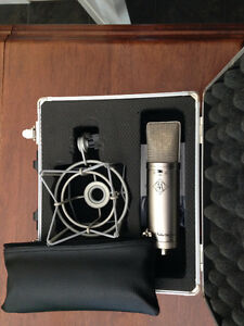 Advanced Audio CM87se Microphone (Neumann U87 Clone)