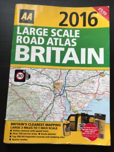 Large Scale Road Atlas - Britain 2016