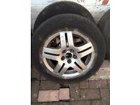 Vw golf mk4 alloy wheel