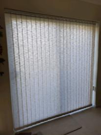 Vertical blind for patio door