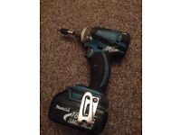 75£ or best offer!!!makita inpact drive battery18 v 3AH