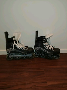 Like new bauer roller blades $60