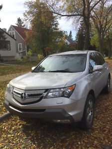 2008 Acura MDX SUV, very low km. clean and well cared for