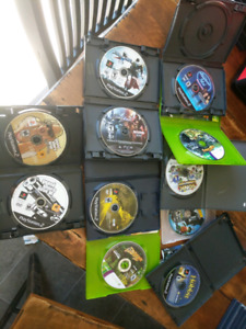 Mixed system lot of loose games.