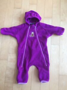 MEC fleece one piece suit size 12 months